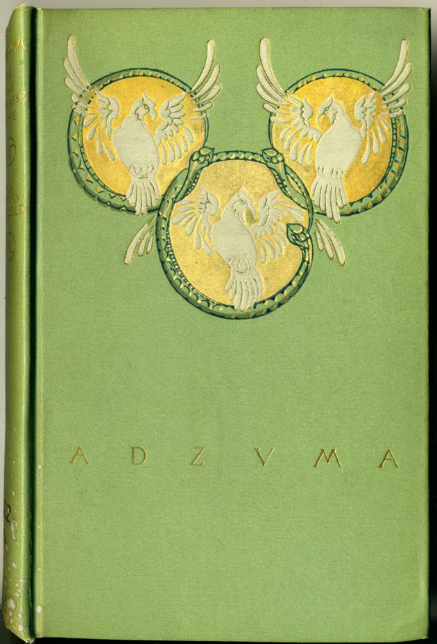 Example of an unsigned binding design by Margaret Armstrong from the Library's collections.