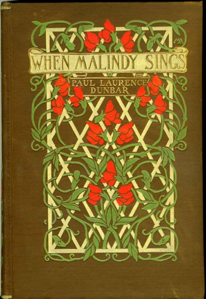 Example of a signed Margaret Armstrong binding from the Library's collections.