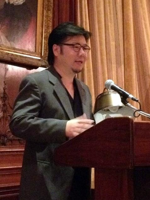 Kevin Kwan discusses his debut novel Crazy Rich Asians in the Members' Room in October 2013.